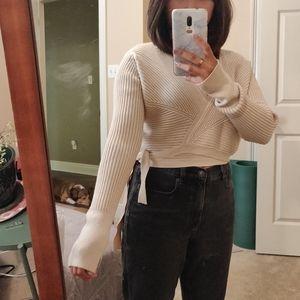 Chicwish wrap sweater xs